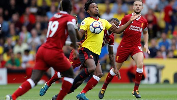 Resultado Watford-Liverpool:  Al Liverpool se le escapa la victoria