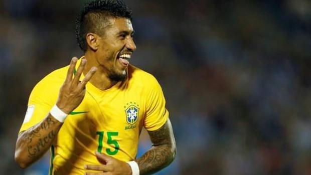 Paulinho con brasil
