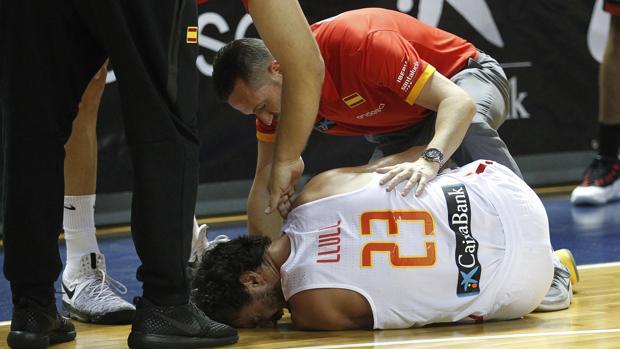 Llull, uno de los lesionados que no estarán en el Eurobasket