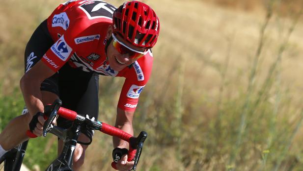 Chris Froome en La Vuelta