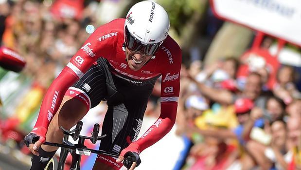Alberto Contador en la etapa 16 de La Vuelta