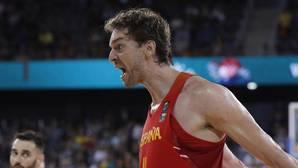 Pau Gasol, en el presente Eurobasket