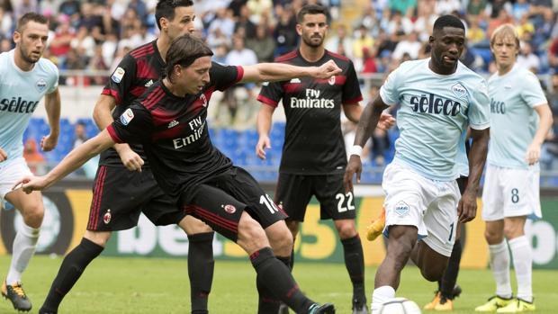 La Lazio arrolla al Milan