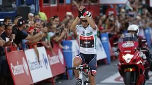 Baño de masas de Contador en el paseo triunfal de Froome