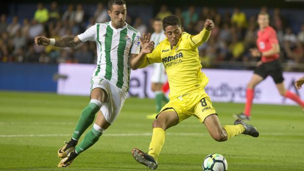 Villarreal-Betis:  El Villarreal fue a más y remontó ante un Betis flojo en defensa