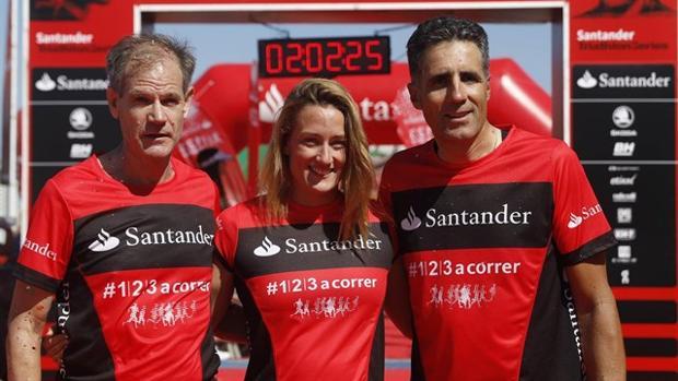 Antón, Belmonte e Induráin