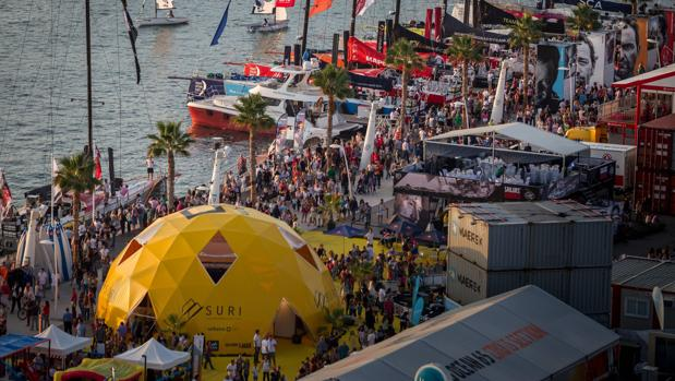 A 30 días de la apertura del village de la Volvo Ocean Race en Alicante