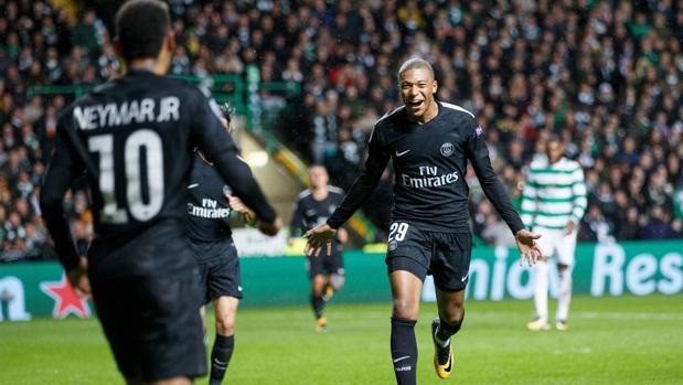 El PSG golea al Celtic y lanza un aviso en la Champions