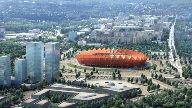 Proyecto del Estadio de Saransk