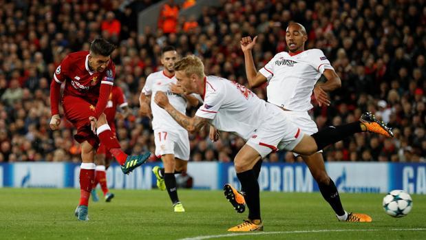 Resultado Liverpool-Sevilla:  Correa silencia Anfield