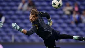 ÍKer Casillas, guardameta del Oporto