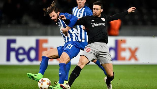 Europa League:  El Athletic desaprovecha un buen primer tiempo