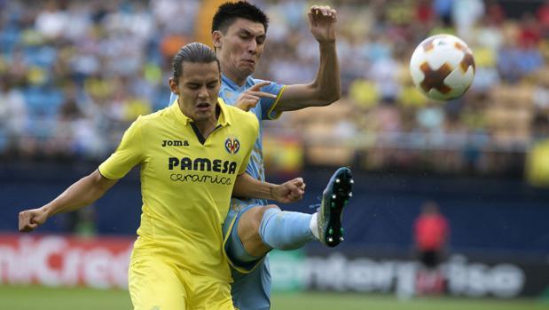 Europa League:  Una genialidad de Bakambu acaba con el Astana