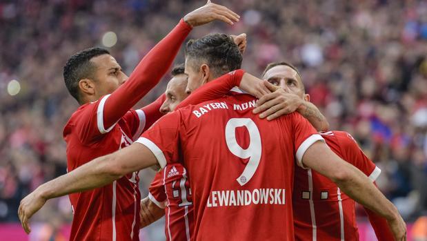El Bayern aplasta al Mainz y acaba con las críticas