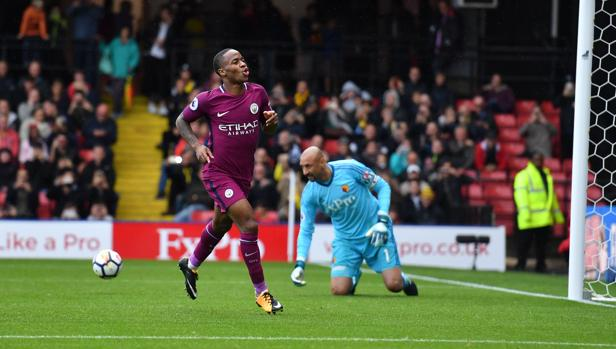 El Manchester City abusa del Watford