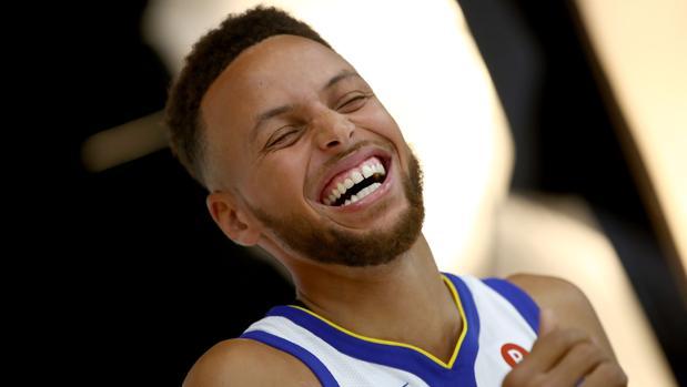 Stephen Curry, estrella de los Golden State Warriors