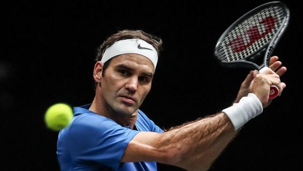 Roger Federer en la Copa Laver