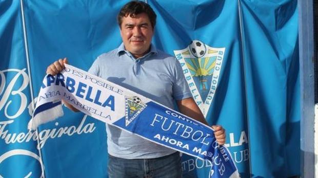 Alexander Grinberg, presidente del Marbella FC