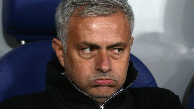 Mourinho, en un partido reciente con el United