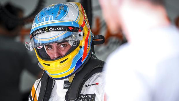Fernando Alonso, en el Gran Premio de Malasia