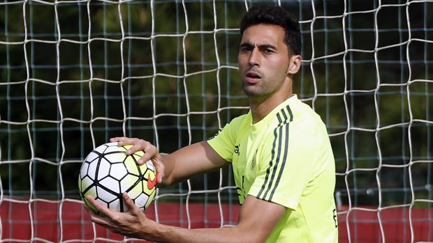 Arbeloa, durante su etapa en el Real Madrid