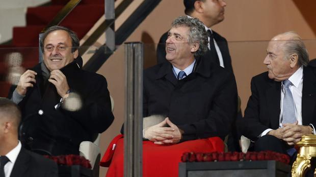 Platini, Villar y Blatter, tres de los beneficiados por los relojes de lujo