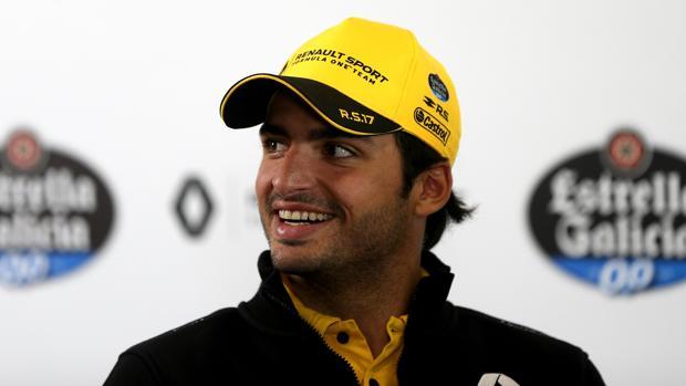 Carlos Sainz, piloto de Renault