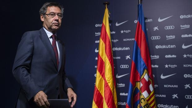 Josep Maria Bartomeu, presidente del Barcelona y de la fundación del club