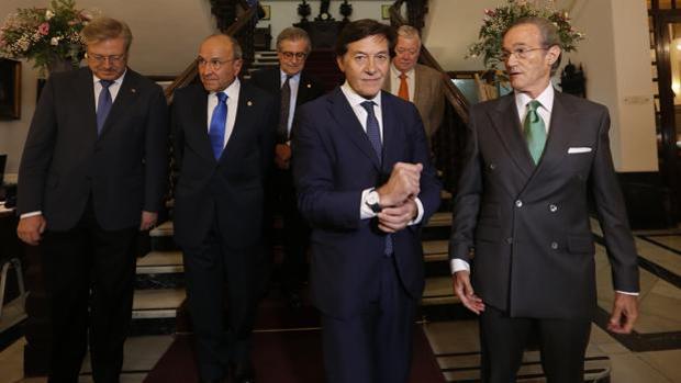 El secretario de Estado para el Deporte, José Ramón Lete, este miércoles en Córdoba