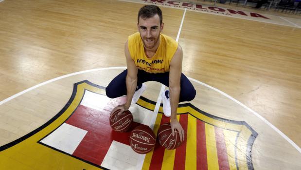 Víctor Claver, jugador del Barcelona y de la selección