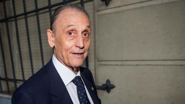 Manuel Ruiz de Lopera, durante el juicio por presuntas irregularidades en la administración del club
