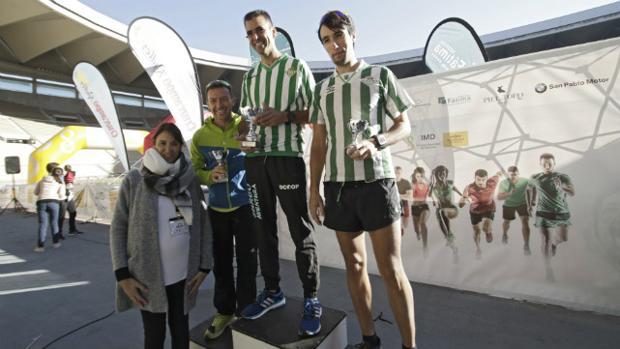 Entrega de Premios Carrera de las Aficiones, celebrada en el estadio de La Cartuja