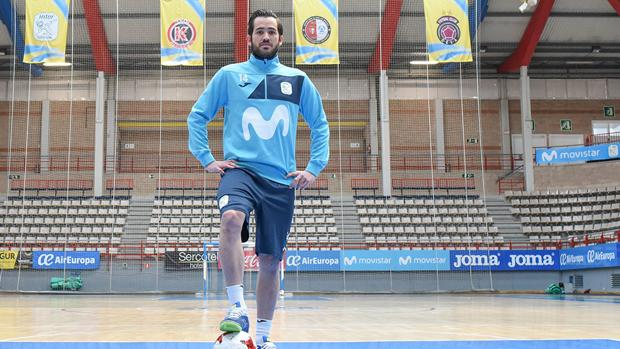 Rafael, jugador brasileño del Movistar Inter