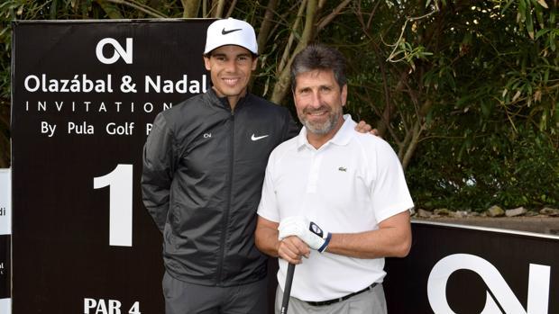Nadal y Olazábal, dos maestros del deporte unidos por el golf