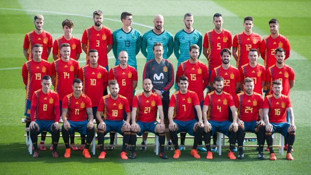La selección española es una de las candidatas al título en Rusia