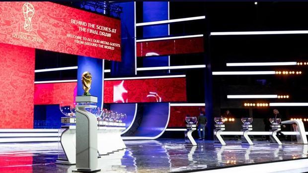 Escenario donde se celebrará el sorteod e la fase de grupos del Mundial