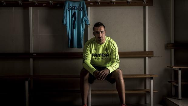 Sergio Asenjo en el vestuario del Villarreal