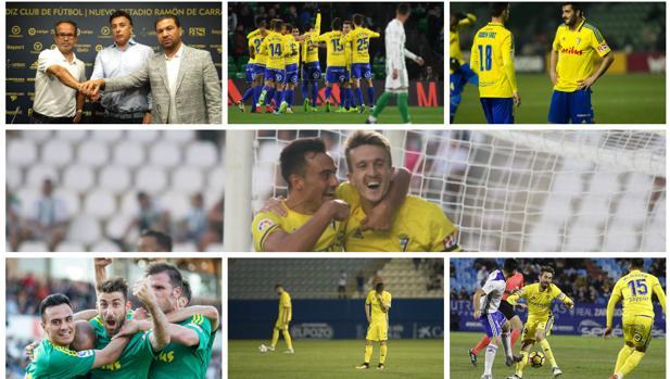 Las doce imágenes del Cádiz CF de un año histórico.