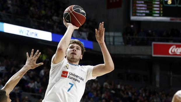 Luka Doncic, durante un partido de la Liga Endesa