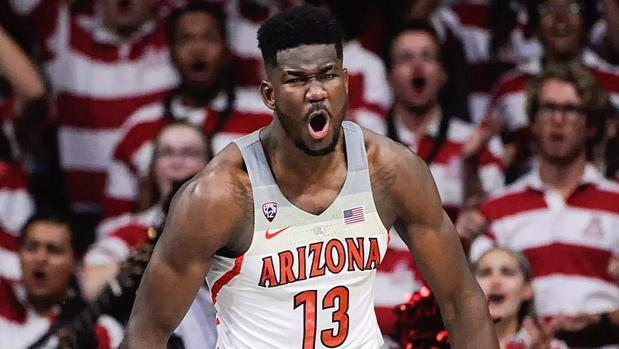 DeAndre Ayton, jugador de Arizona