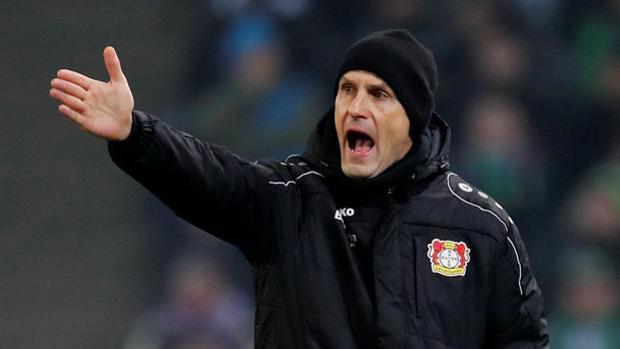 Heiko Herrlich, entrenador del Bayer Leverkusen