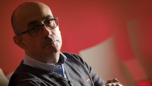 Jordi Ribera posa para ABC después de la entrevista