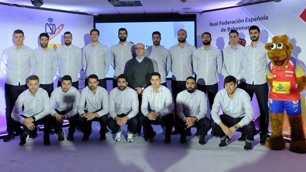La selección española de balonmano