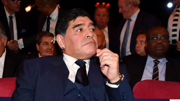 El exjugador argentino Diego Armando Maradona ha criticado la salida de Berizzo del Sevilla