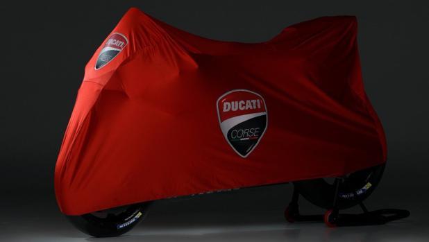 La moto Ducati de Jorge Lorenzo