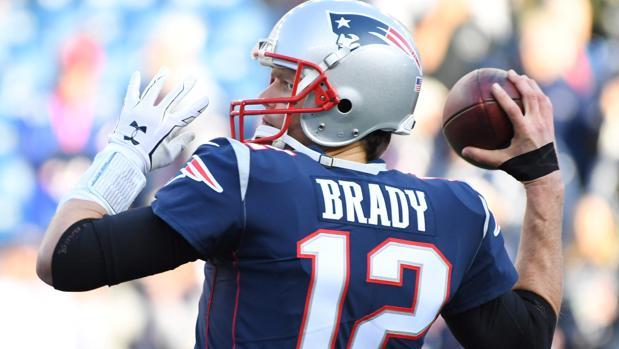 Tom Brady, quarterback de los Patriots