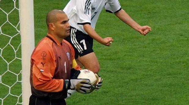 Chilavert durante el Mundial del año 2002