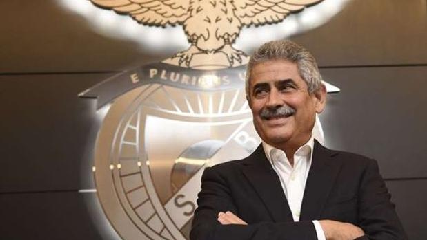 Luís Filipe Vieira, presidente del Benfica