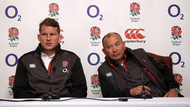 El capitán y el entrenador de Inglaterra