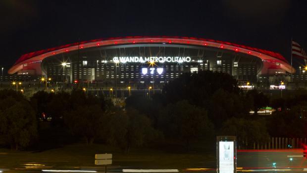 Imagen del estadio Wanda Metropolitano